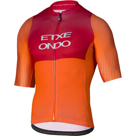 Etxeondo On Aero Jersey korte mouwen Heren, orange-red